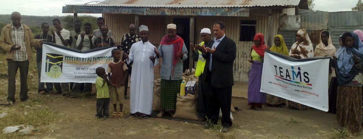 Ramadhan 2012 – TEAMS Supply Ration to Most Needy