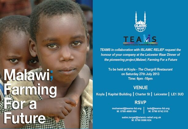 Malawi Farming for a Future Charity Dinner raises in excess of £52k