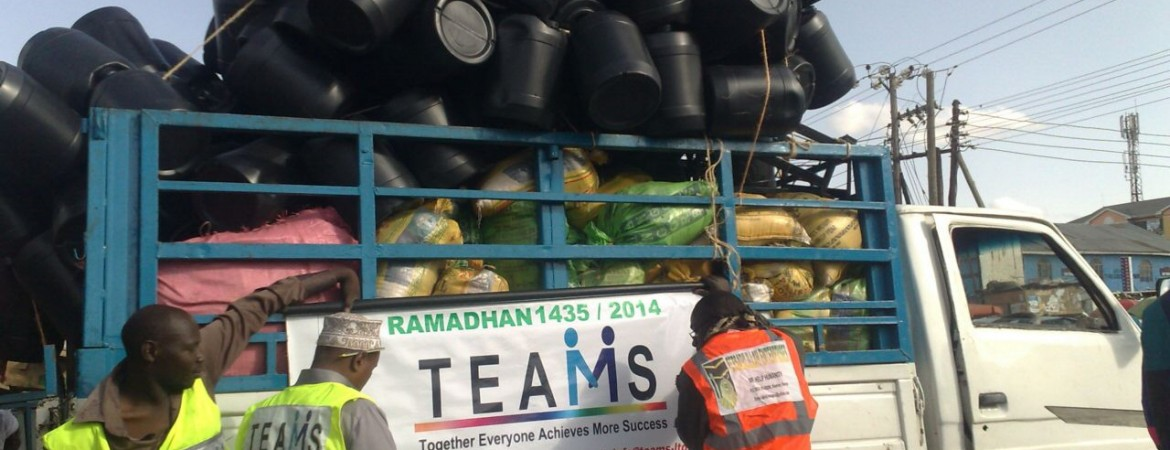 TEAMS Feeds Families and provides sustainable means in Fasting Month (Ramadhan) 2014