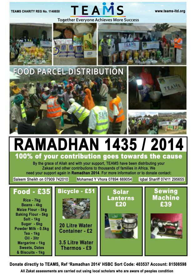 2014 Ramadhan Distribution